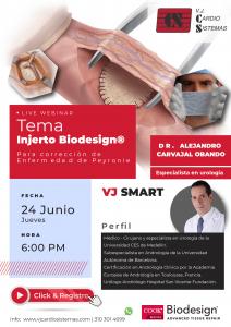 Webinar: Injerto Biodesign® para corrección de Enfermedad de Peyronie